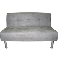 College Mini-Futon dorm sized sofa furniture essential for college dorm room seating where college students can relax lounge and hang out