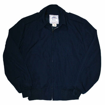 Vintage Lightweight Navy Uniform Jacket Mens Size Small