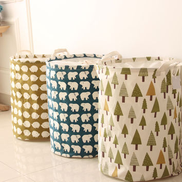 Waterproof Canvas Laundry Hamper