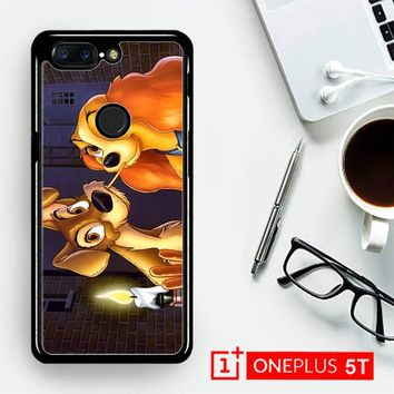 Lady And Tramp Disney Z1223  OnePLus 5T / One Plus 5T Case