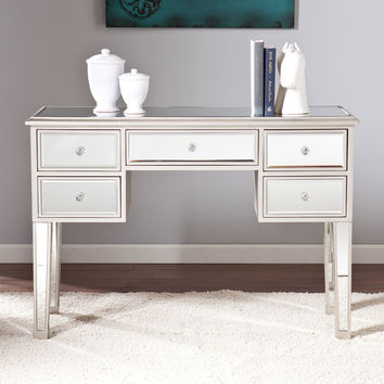 Upton Home Monroe Mirrored Console Table | Overstock.com Shopping - The Best Deals on Coffee, Sofa & End Tables