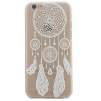 Hollow Out Lace Dreamcatcher Case Cover for iphone 5s 6 6s Plus + Gift Box 41-170928