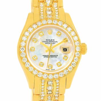 Rolex Pearlmaster automatic-self-wind womens Watch 80298 (Certified Pre-owned)