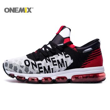 Onemix Running Shoes Men Sneakers For Women Sport Shoes Athletic Zapatillas Outdoor  Breathable Original Shoes For DHL Free 1195