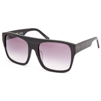 Sabre Deadbeat Sunglasses Matte Black/Grey Gradient One Size For Men 24832118201