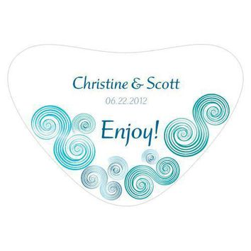 Sea Breeze Heart Container Sticker (Pack of 1)