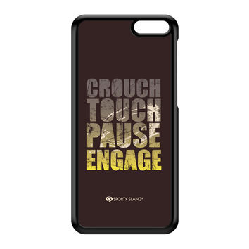 Sporty - Crouch Touch Pause Engage 20144 Black Hard Plastic Case for Amazon Fire Phone by Sporty Slang