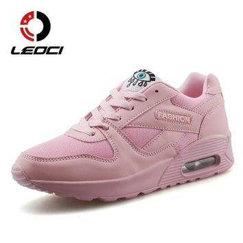Spring Summer Running Shoes For Women Sneakers Breathable Cushioning Outdoor Sports Shoes Jogging Walking Female Trainers Cheap
