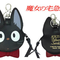 Strapya World : Studio Ghibli My Neighbor Totoro Body Shaped Pouch (Kiki's Delivery Service)【cat】