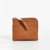 Herschel Supply Co. Johnny Side Zip Leather Wallet