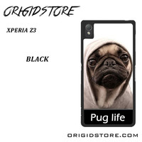 New Design Funny Hilarious Pug Life Parody Fans For Sony Xperia Z3 Case UY
