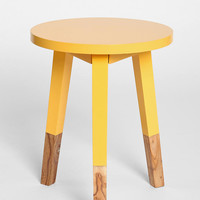 Plum & Bow Round Dipped Side Table - Urban Outfitters