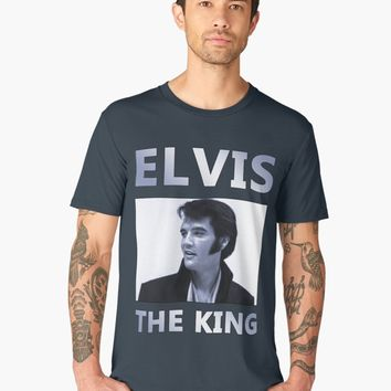 'Elvis The King' T-shirts premium homme by ValentinaHramov