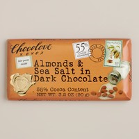 Chocolove Almonds and Sea Salt in Dark Chocolate