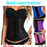 Waist Trainer Training Corsets Hot Shapers Body Shaper Waist Cincher