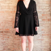Jovie Black Lace Dress