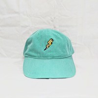 Lightning Dad Cap (Seafoam)