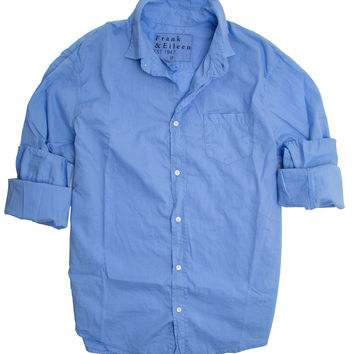 Frank & Eileen Luke Blue Light Poplin Shirt