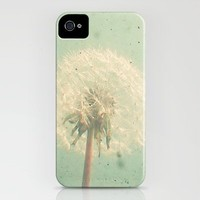 Dandelion Clock iPhone Case by Cassia Beck | Society6