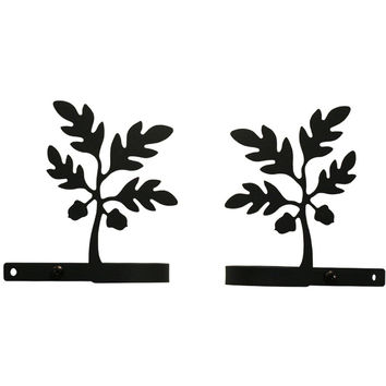 Wrought Iron Curtain Tie Backs (Set of 2)