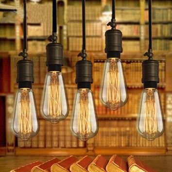 Retro Edison Bulb Vintage Tungsten Edison Light