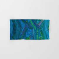 Oceans of Color Hand & Bath Towel by Scott Hervieux