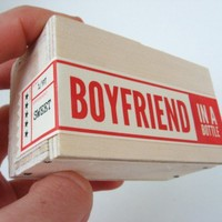 Boyfriend in a Bottle (TM) - Ships in 2-3 business days