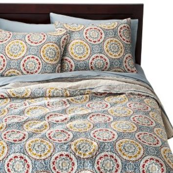 Threshold™ Medallion Reversible Quilt