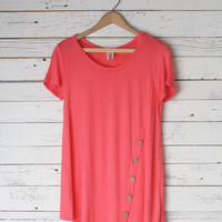 Monica Button Tunic