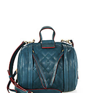 Marc by Marc Jacobs - Moto Quilted Barrel Bag - Saks Fifth Avenue Mobile