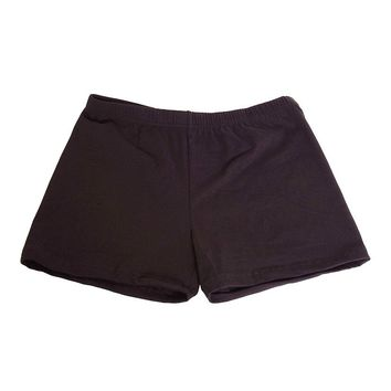 Underneath Cotton Boy Shorts - Black