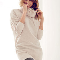 Fleece Cowlneck Tunic