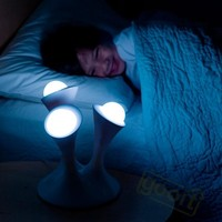 New Cute Glowing Ball Color Changing Night desk Lights Portable Glowing Ball table lamp