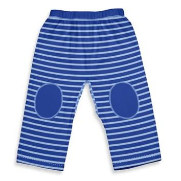 i play.® Brights Organic Cotton Yoga Pants in Royal Stripe