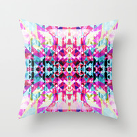 Mix #568 Throw Pillow by Ornaart