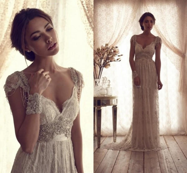 Shop Vintage Lace Wedding Dresses on Wanelo