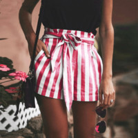 Let's Ketchup High-Waisted shorts