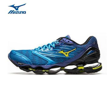 MIZUNO Men Wave PROPHECY 5 Breathable Light Weight Cushioning Jogging Running Shoes Sn