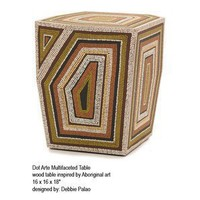 SNUG FURNITURE Dot Art Multifaceted Table - Tables: Side Table - Modenus Catalog