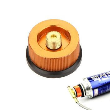 Camping Picnic Gas Stove Adapter Auto-off Aluminum Gas Stove Burners Conversion Split Type Furnace Connector Tank Adaptor