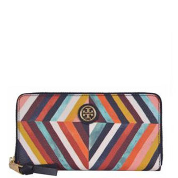 Tory Burch Kerrington Diamond Print Continental Wallet