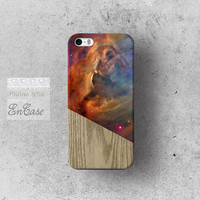 Geometric galaxy wood, Samsung Galaxy S4 3D-sublimated Unique design iPhone 4/4S case iPhone 5/5S case.