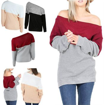 Long Sleeve Jumper Pullover Sweater