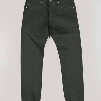 Kings of Indigo Charles Selvage Denim 13oz Dry Black