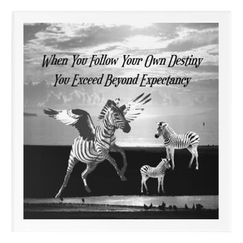 Destiny Quote by Kat Worth Acrylic Wall Art