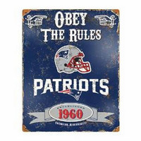NFL New England Patriots Vintage Sign