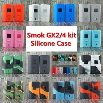 1Set RHS HOME Stock Offer SMOK GX2/4 KIT 220W/350W kit Silicone Case representing hot selling and high quality free shipping