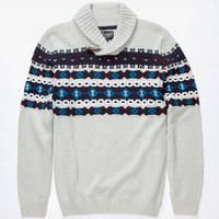 Retrofit Oslo Mens Sweater Grey  In Sizes