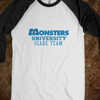 Monsters University Scare Team