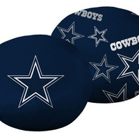 "Dallas Cowboys NFL 11""x 11"" 3D Ultra Stretch Travel Cloud Pillow"